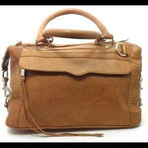 Rebecca Minkoff Large Tan Leather Satchel